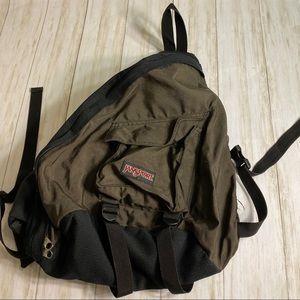 Jansport sling backpack/Velcro adjustable strap